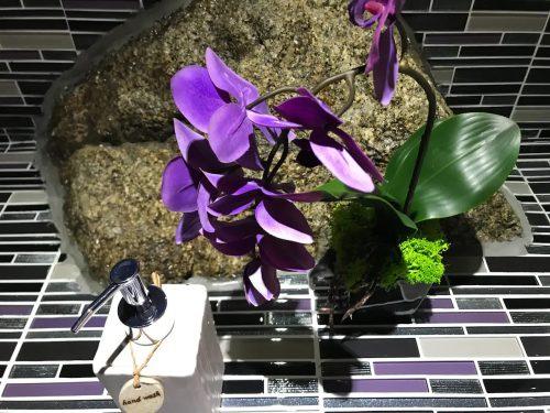 Villa Little Paradise Studio - Bathroom Decor closeup