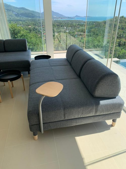 Villa Little Paradise - Sofa bed in Livingroom